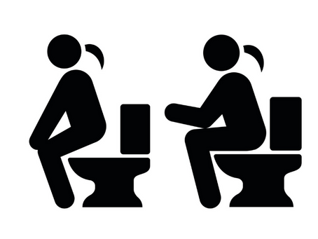 DO YOU HOVER OR SIT WHEN USING A PUBLIC TOILET?