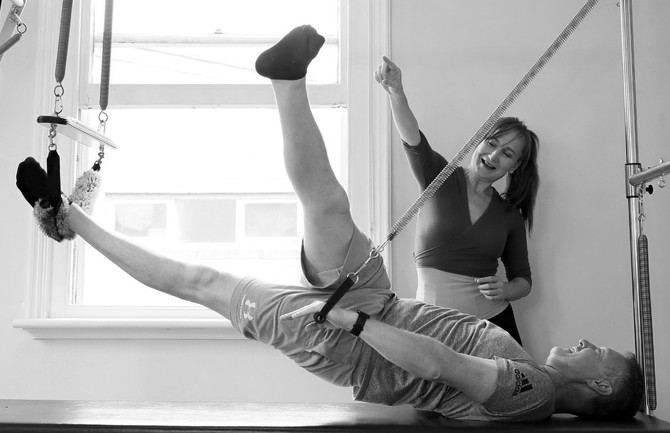 Men's Pilates : Pilates is not just for women, after all, a man created Pilates.