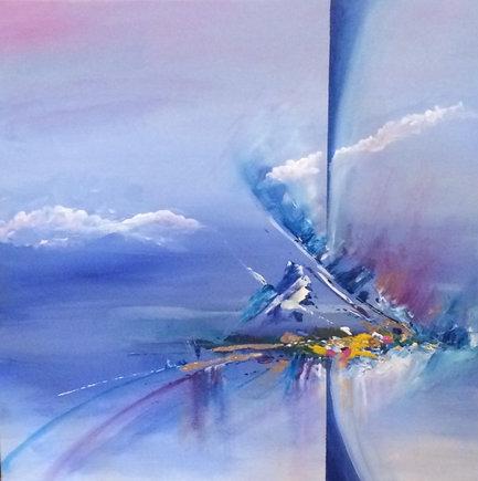 Impetuous, Manon Jodoin studio, acrylic,