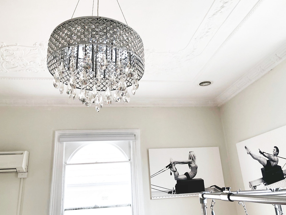 Add a chandelier!
