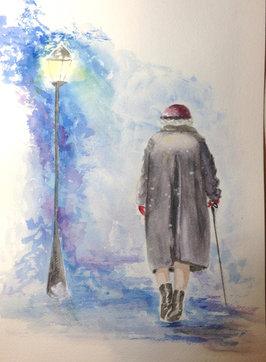 Manon Jodoin, She still walking