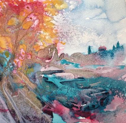 Experimental landscape 3, Manon Jodoin studio