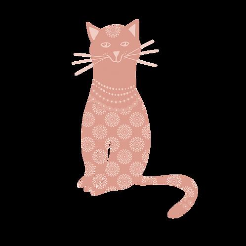 Pink cat 2