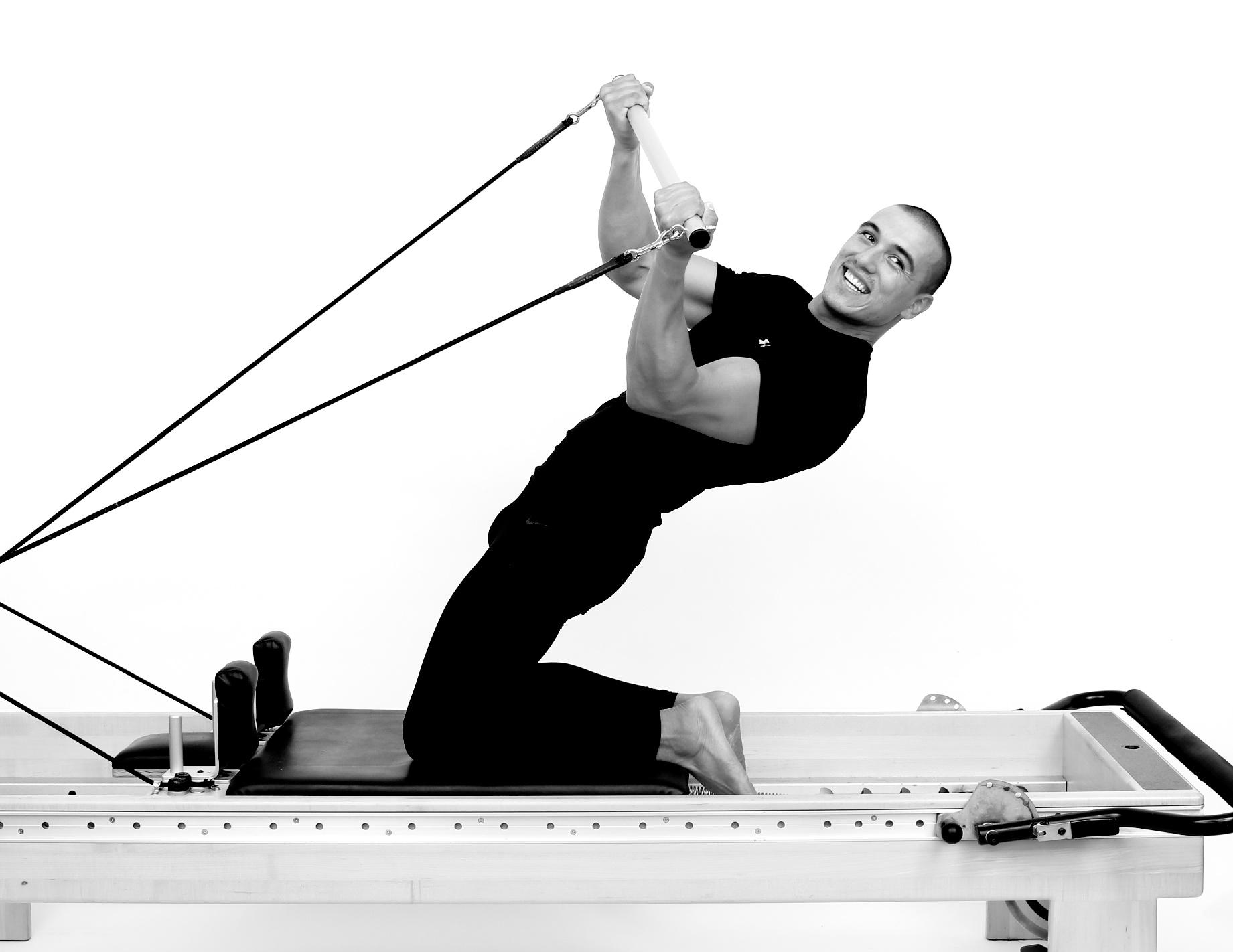 taube pilates thigh stretch