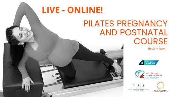 Pilates Pregnanyc and postnatal Live online