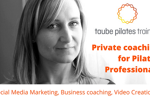 Private coaching for Pilates Professionals