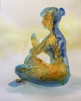 Meditation, Manon Jodoin studio