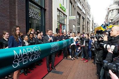 Opening Marks & Spencer amsterdam kalverstraat