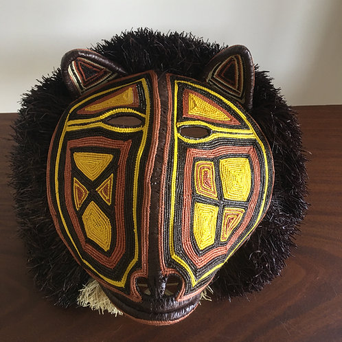 Embera Panama Mask - Large Lion