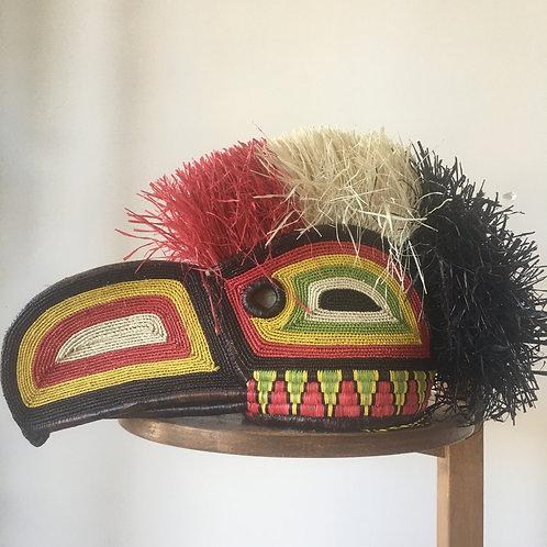 Embera Panama Mask - Toucan