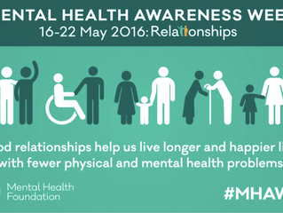 Mental Health Awareness Week 16-22 May