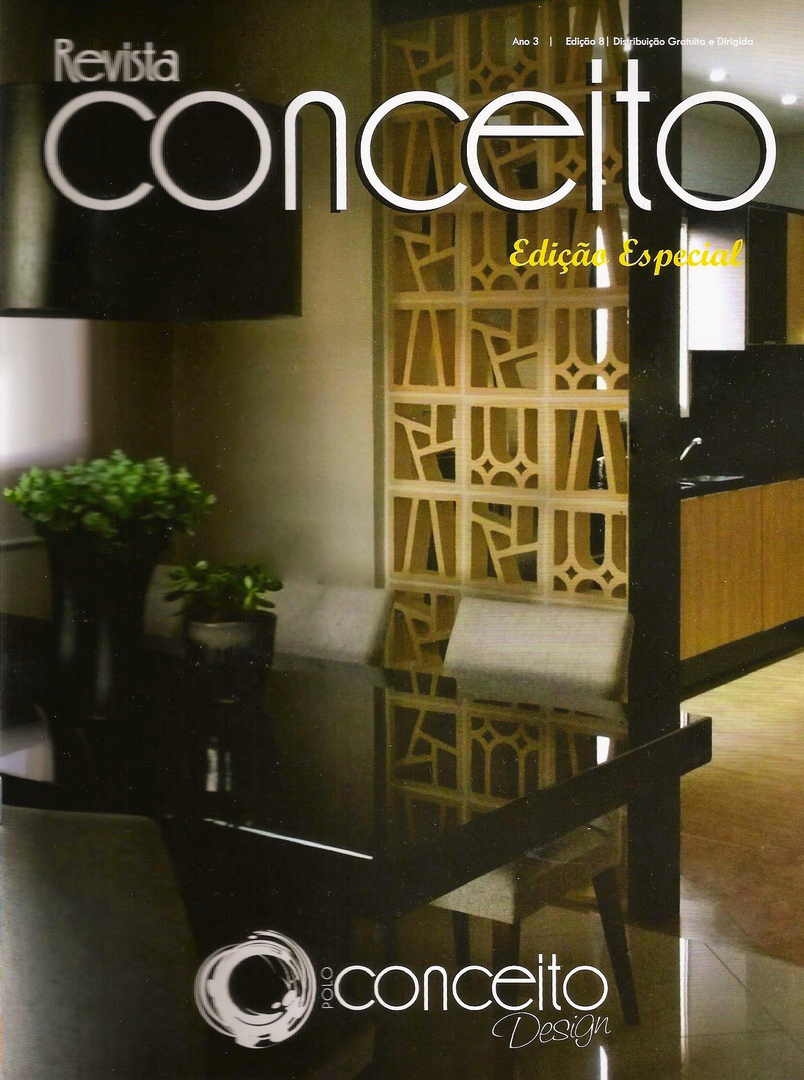Capa da Revista Conceito