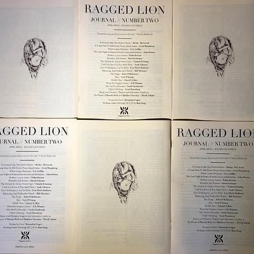 Ragged Lion Journal #1-#4