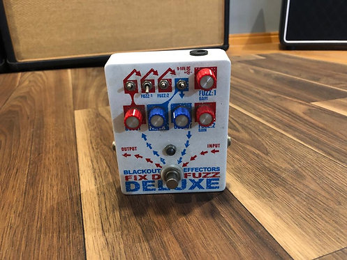 BLACKOUT EFFECTORS FIX D FUZZ DELUXE MADE IN USA