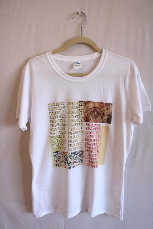 Pop of Color Graphic Tee