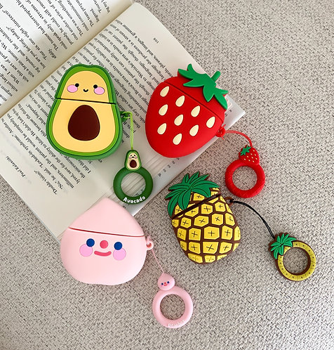 Cartoon Fruits AirPods case