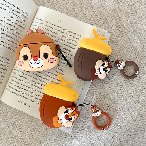Chipmunk Friends AirPods Case