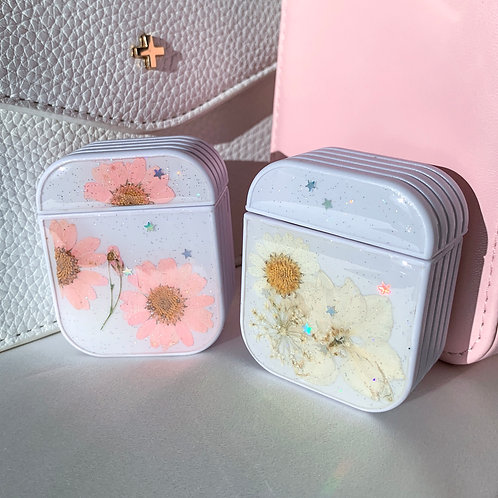 Daisy Pressed Floral Airpods Case