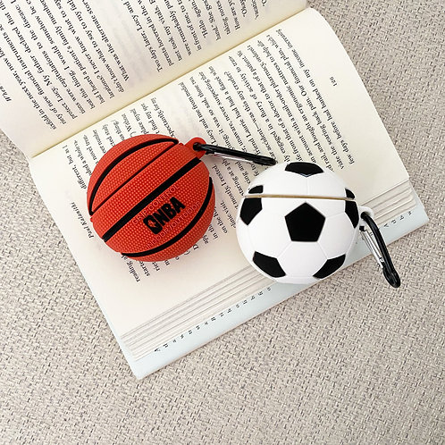 Basketball and Soccer AirPods Case