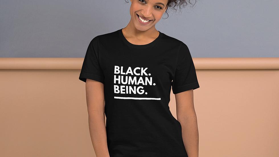 Black Human Being Tee