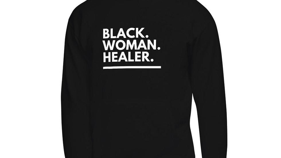 The Black. Woman. Healer. Hoodie