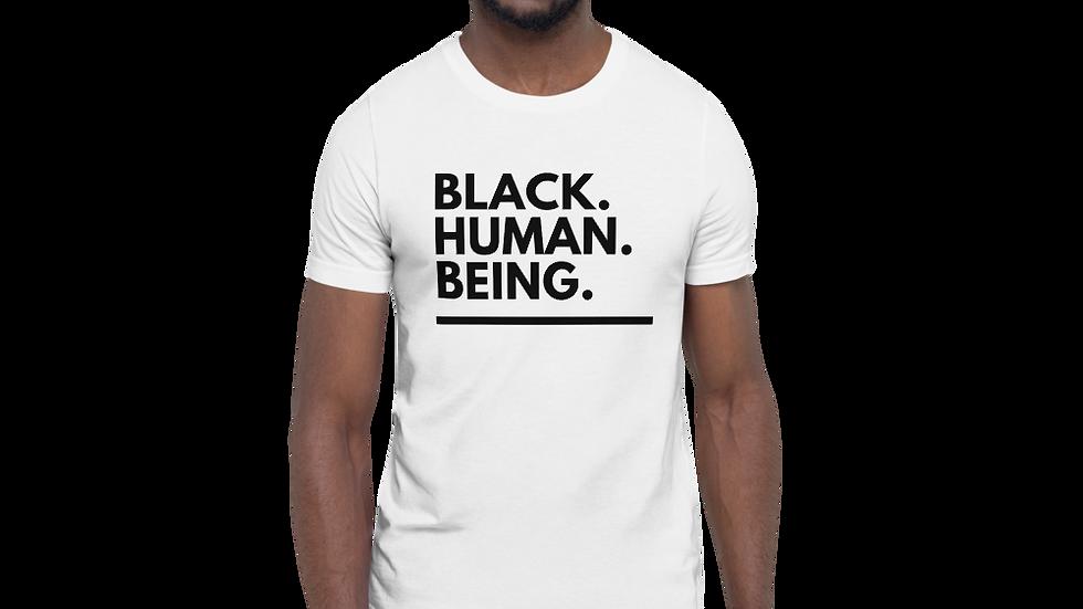 Black. Human. Being. Tee