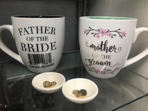 Wedding Mugs & Ring Holders