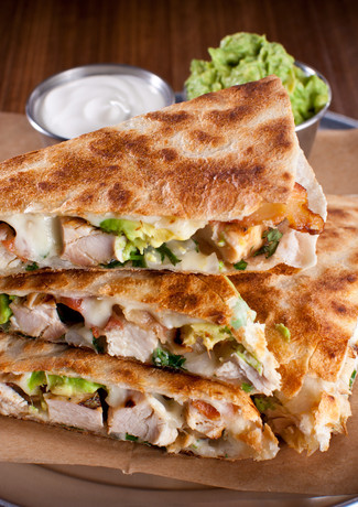 Fire Grilled Quesadilla