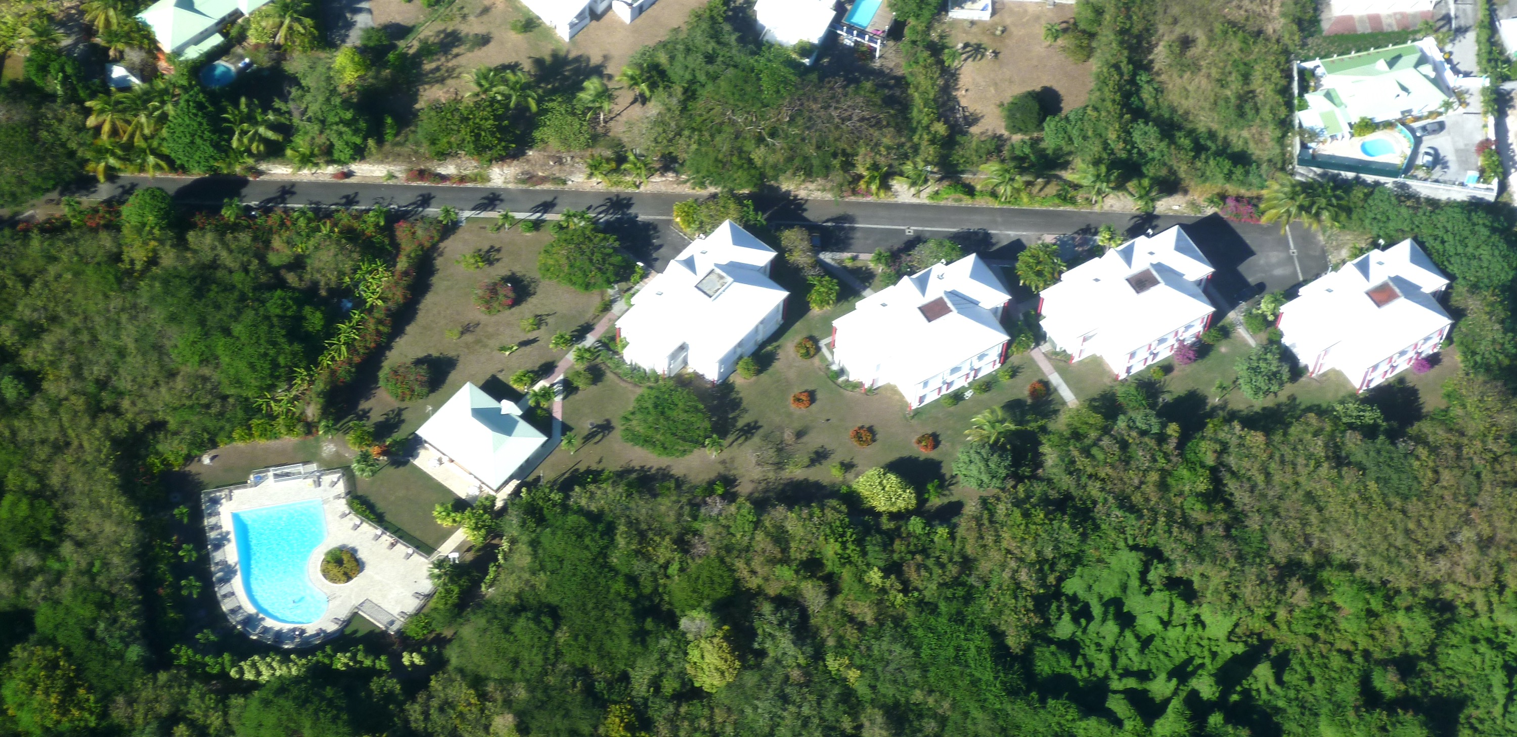 Residence-Le-Vallon-Guadeloupe-Vue-Aerienne