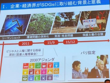 地方創生SDGs官民連携プラットフォーム設立総会で講演