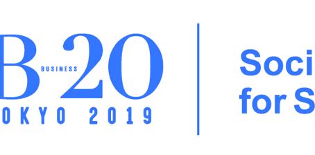 告知:B20 Tokyo 2019を開催します