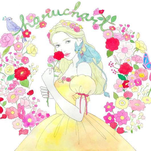 fantasy flower princess