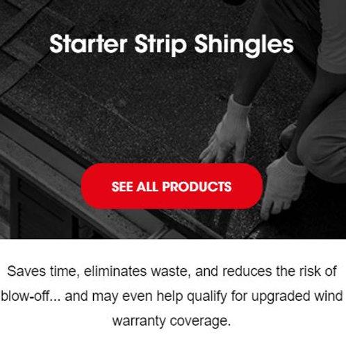 STARTER STRIP SHINGLES