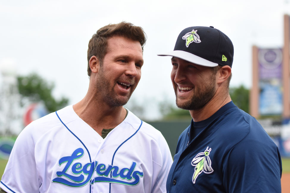 Tim Tebow and Tim Couch