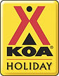 KOA Holiday Logo