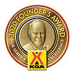 KOA Founders Award Logo