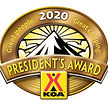 KOA Presidents Award Logo