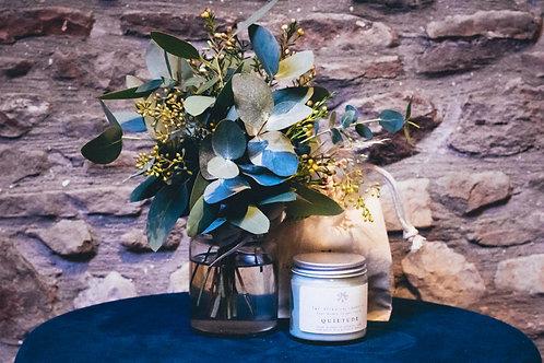 Botanical Quietude & Eucalyptus Jar