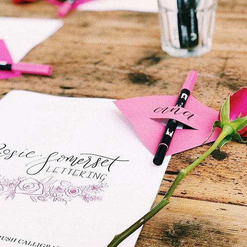 Modern Calligraphy with Rosie