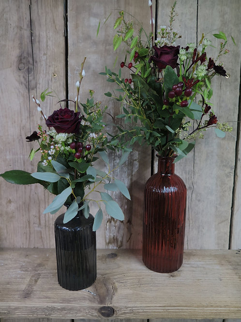 Brandy Bottle Vase