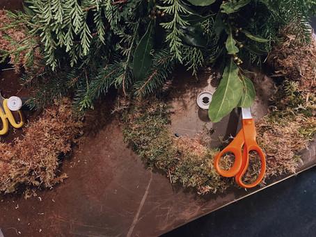 Guest Blog: wreath making workshop