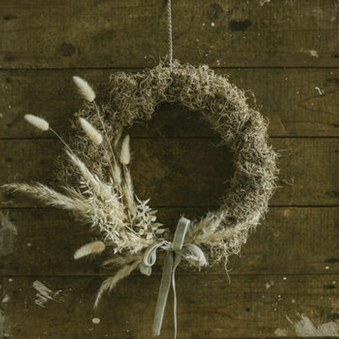 Handmade Dried Wreath