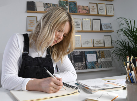 Luxury card and stationery brand join wild about flowers