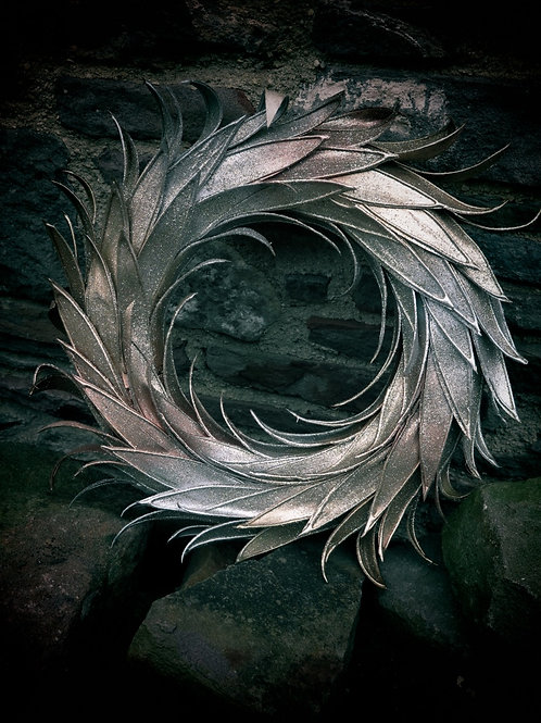 Metallic Wreath