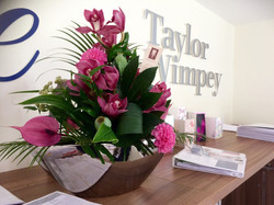 Taylor Wimpey contract flowers