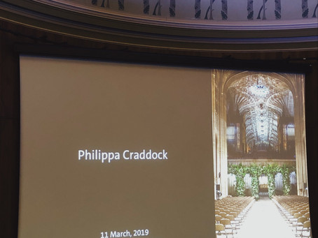 An evening with floral designer, Philippa Craddock