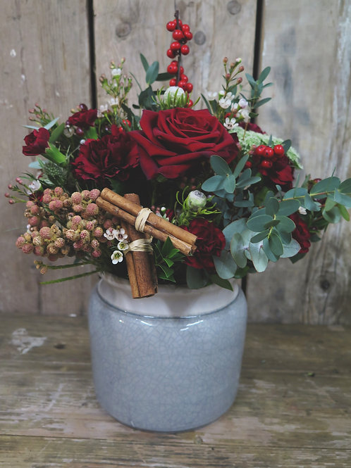Spiced Berry Punch Vase