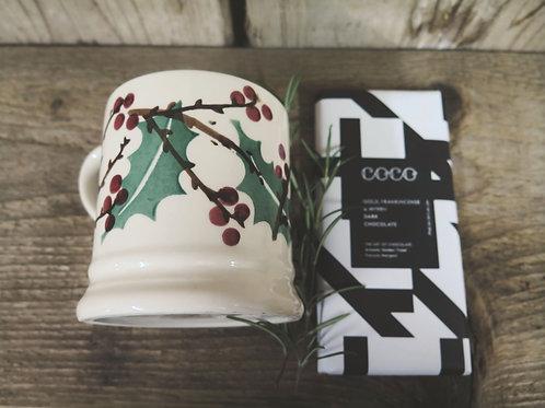 Emma Bridgewater Mug & COCO Bar Gift Box