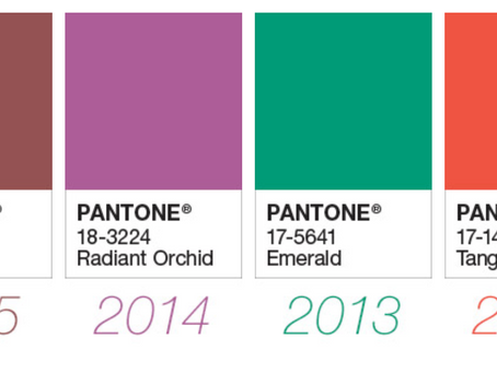 Pantone announce 2018's colour of the year