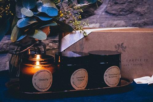 Botanical Trio Candle Set